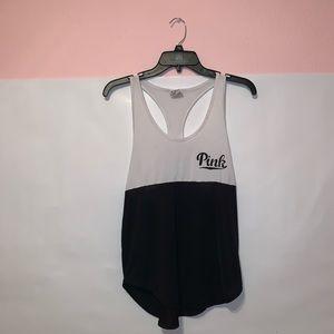 💓Pink Tank Top W/ Pink Drawstring Backpack 💓